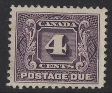 MOTON114    J3 Postage Due Canada mint well centered XF cv $100