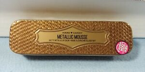 NEW HARD CANDY METALLIC MOUSSE MATTE METALLIC LIP COLOR GILDED COCOA 1197