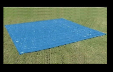 NEW Square Ground Cloth Tarp For Up To 18 Foot Round Swimming Pool Mat