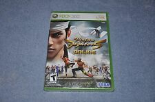 Virtua Fighter 5: Online (Microsoft Xbox 360, 2007) BRAND NEW FACTORY SEALDED