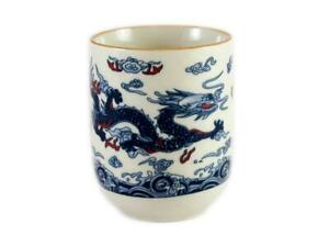 12PC Dragon Design Chinese Teacup, Tea Cup [Seconds, Lower Quality] Wholesale