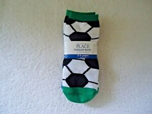 """The Childrens Place 3 Pair Of Toddler Boys Midi Socks 3-4 Years """" GREAT ITEM """""""