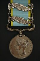 (SILVER) CRIMEA MEDAL WITH 2 CLASPS. ( A BEAUTIFUL COPY MEDAL),