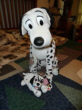 Large PONGO from 101 DALMATIONS with bonus beanie by Mouseketoy Disney/Applause