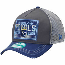 New MLB Kansas City Royals Trucker New Era Tear 9FORTY Snapback Cap Hat