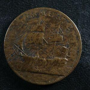 AM-5A2 North American token 1781 Commerce Breen 1143 Canada USA ship Breton 1013
