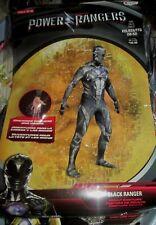 Adult Mens Saban's BLACK POWER RANGER Costume XXL 50-52 NEW Full Body Suit 2XL