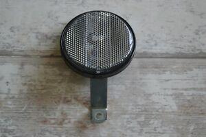 Vintage Talmu 535 75mm Large Round Front Reflector & Steel Bracket