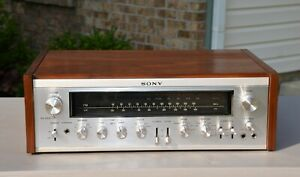 VTG (1972) Sony STR-7065 FM-AM Stereo Tuner Receiver