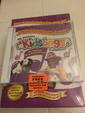 Kidsongs - Sing-Along Fun Box Set 4 Disc DVD Box Set With Extra Audio CD New OOP