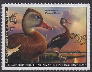 US RW87 Black-bellied Whistling-Ducks single (1 stamp) MNH 2020-2021