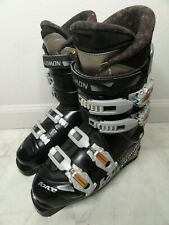 Used Salomon Force Performa 8.0 Ski Boots Mondo Size 25 US Mens 7 EUR 40 294mm