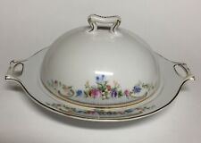 Vintage Paul Muller Selb Kenmore Pattern Covered Butter or Cheese  Dish