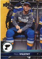 17/18 UPPER DECK BASE #163 PAUL STASTNY BLUES