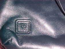 Anne Klein  Black Leather Cross Body Purse Clutch 6 x 10  524