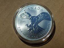 2014 Canadian Birds of Prey - Peregrine Falcon - .9999 Silver - UNC - in holder