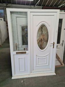 Upvc Front Door And Side 1490mm X 2200mm Fd0015