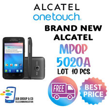 ALCATEL ONE TOUCH M'POP 5020A UNLOCKED Brand New 4GB Black - LOT 10 PCS