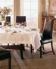 """ITALY SFERRA CLASSICO RECTANGULAR PURE LINEN TABLECLOTH UP TO 180"""" LONG"""