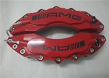 """Engineering Plastic Red AMG Brake Caliper Covers 11"""" Front 2pcs set for Mercedes"""