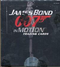 James Bond In Motion Factory Sealed Hobby Box 24 Packs