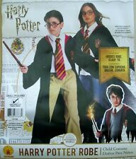 NWT Child's Harry Potter Costume Halloween embroidered Robe, Tie & Clasp