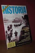 HISTORIA N° 499/1988 6 Juin 1944 Sables Juno, Invincible armada 1588, Cagoulards