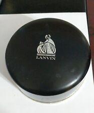 Vintage Lanvin Arpege Dusting Powder 8 1/4 Oz 50% Full