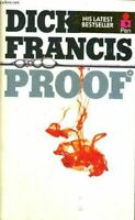 Very Good, Proof, Francis, Dick, Mass Market Paperback