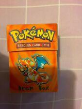 POKEMON TRADING CARD GAME DECK BOX USED ..UK SELLER