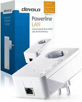 DEVOLO 2639 DLAN 1200+ Single POWERLINE-Adapter 1 STÜCK & STECKDOSE 1200Mbps