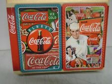 Double Deck of Bridge Playing Cards COCA-COLA CLASSICS by Springbok BRAND NEW