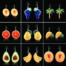 Fashion Colorful Charm Women Fruit Earrings Beach Jewellery Funky Cute Party Hot