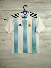Argentina Jersey 2018 2019 Home Boys Kids 11-12 Young Youth Shirt Adidas BQ9288