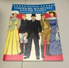 Theodore Roosevelt Family Paper Doll Book Tom Tierney UNUSED Dover USA