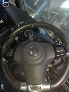 Vauxhall corsa D vxr steering wheel & airbag