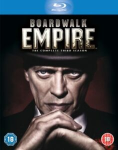Boardwalk Empire Season 3 REGION FREE BLU RAY *NEW & SEALED*