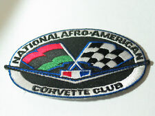 National Afro American Corvette Club Patch , Older patch(#3071)