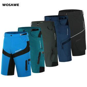 MTB Cycling Baggy Shorts Mountain Bike Racing Sports Casul Short Pants Quick Dry
