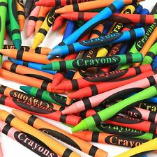 144 x WAX CRAYONS >BRANDED PACK< Colouring Colour Kids Children Craft School Set