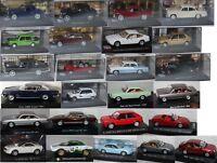 FIAT,SIMCA, LANCIA, ALFA ROMEO Modell / Auto - Maßstab (1:43) - Aussuchen: