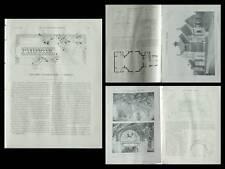 LA CONSTRUCTION MODERNE n°23 1914 FEIGNIES, SALLE DES FETES, JEAN LAFITTE