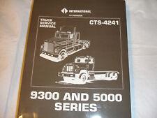 New ListingInternational Truck 5000 Series Paystar 9300 Service Shop Repair Manual Brandnew