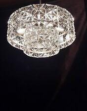 alter Kronleuchter 50er60er Jahre 50s60s chandelier Luester brass chrome lamp