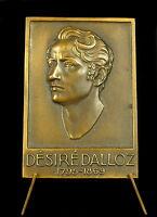 Medal Victor Alexis Desired Dalloz Urisconsulte Jurisprudence Septmoncel Medal