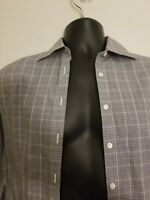 Brooks brothers mens Size 4 shirt button down Fitted Non Iron 346 Long Sleeve