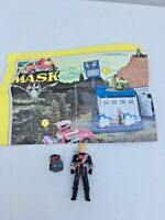 Vintage Kenner M.A.S.K. mask ~ Floyd Malloy & Vampire instruction poster 1980s