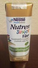 Nutren Junior with Fiber 1 Cal Formula, Vanilla, 250ml - Case of 24 Exp 9/2020