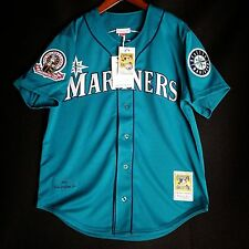 100% Authentic Ken Griffey Jr Mitchell Ness 1995 Mariners MLB Jersey Size L 44