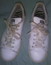 Adidas Stan Smith Zebra Velvet Detail  Black White Men's Size 7